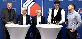 Web-Pressekonferenz zur Messe DACH+HOLZ 2020