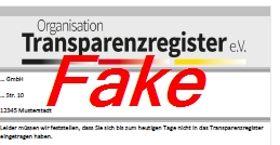 Achtung: Fake-E-Mails der