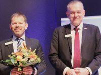 Dachdeckerverband: Präsident Dirk Bollwerk und ZVDH-Vizepräsident Michael Zimmermann im Amt bestätigt