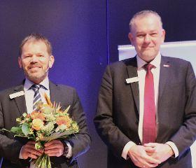 Vizepräsident Michael Zimmermann und Präsident Dirk Bollwerk