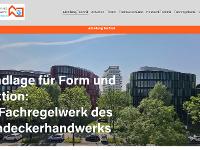 Neue Homepage der Abteilung Technik